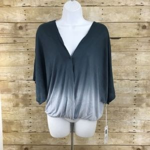 Young Fabulous & Broke Selby Top Open Back Blue S